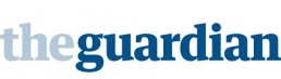 A masthead for The Guardian newspaper