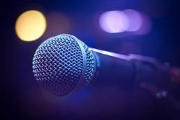 Microphone for a speech