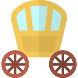 An icon representing a Royal Carriage