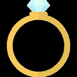 Icon of a diamond ring